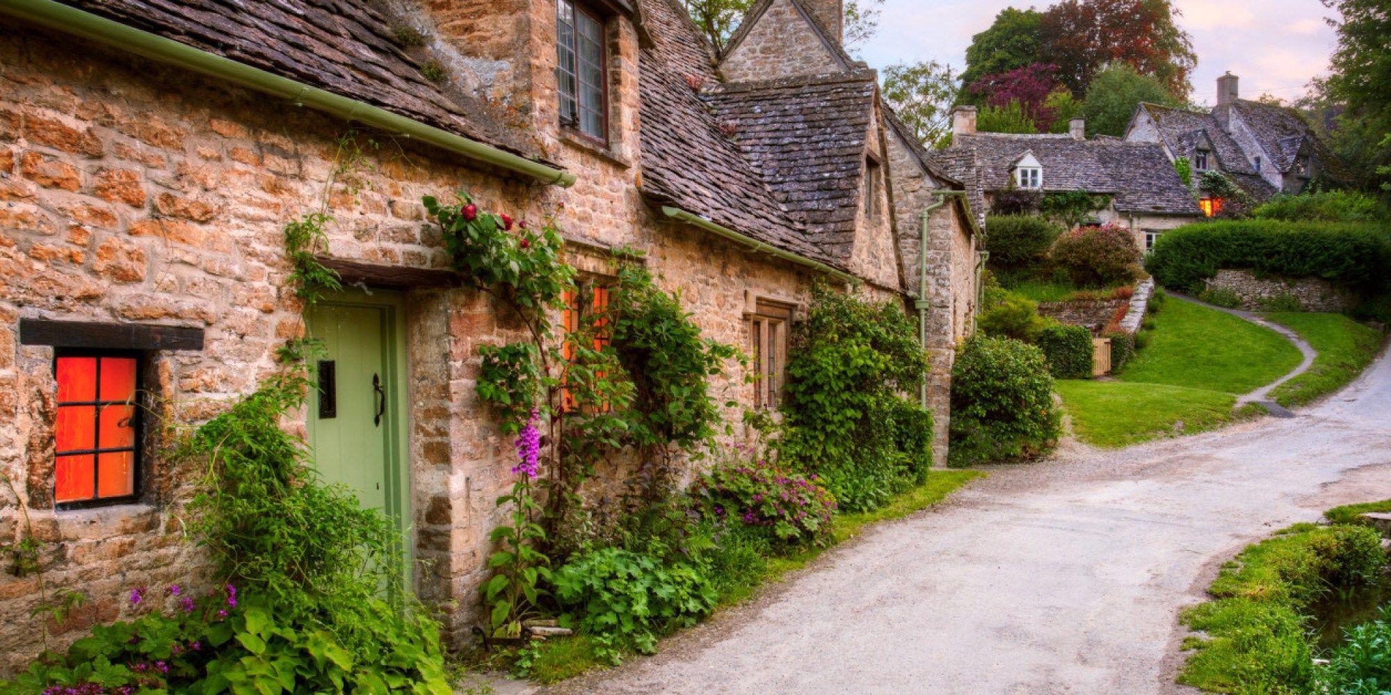 Le Cotswolds sono una verde distesa di colline dolci tra l'Inghilterra e il Ga…