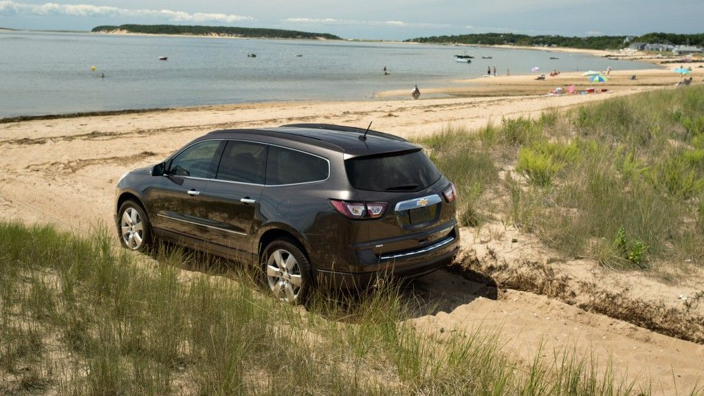 Possibly my next new vehicle Chevy Traverse love the way