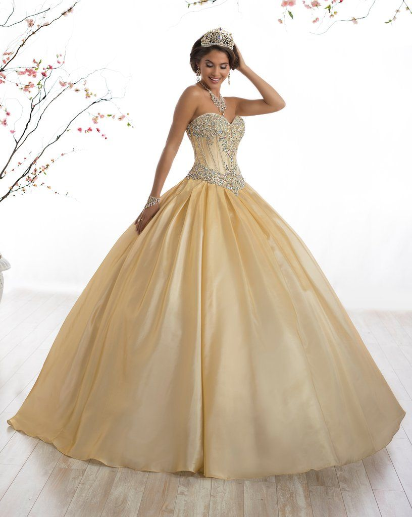 Strapless aline quinceanera dress by fiesta gowns in