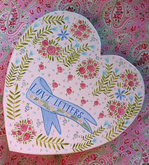 Valentine's Day Love Letter Box