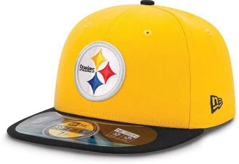 Pittsburgh Steelers New Era Gold Classics 59FIFTY Fitted Sideline Hat