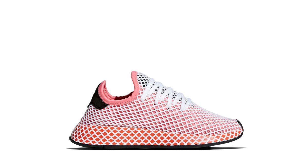 Adidas Originals Deerupt Runner Chalk Pink Release: 22.03.2018 Colorway:  Chalk Pink/