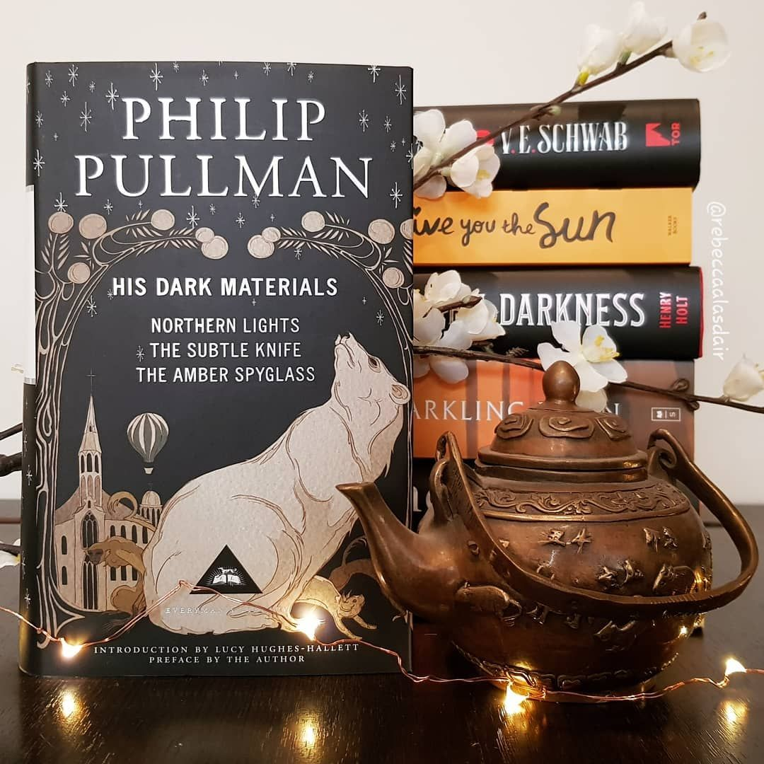 On a scale of 1 to 10, exactly how excited are you for the release of  #HisDarkMaterials TV show, which starts in earl… | His dark materials,  Bookstagram, Book cover