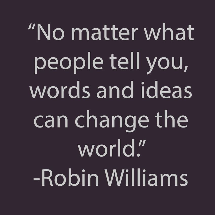 #robinwilliams #quotes #motivation