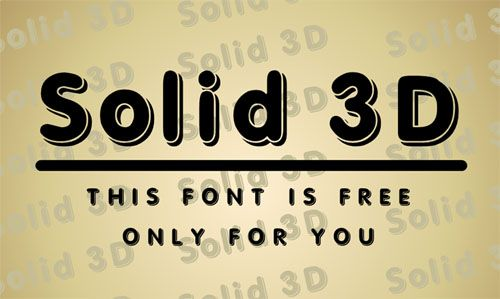 Download Free Fonts for Commercial Use (16 New Fonts) | Fonts | Graphic Design Junction