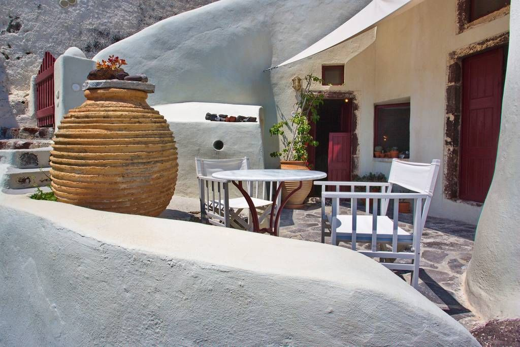 Unique Architecture Cave House Cycladische huizen