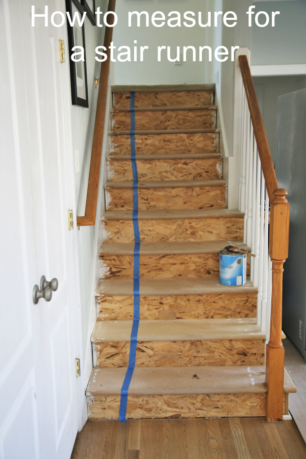 Best Painted Staircase Makeover With Seagrass Stair Runner 400 x 300