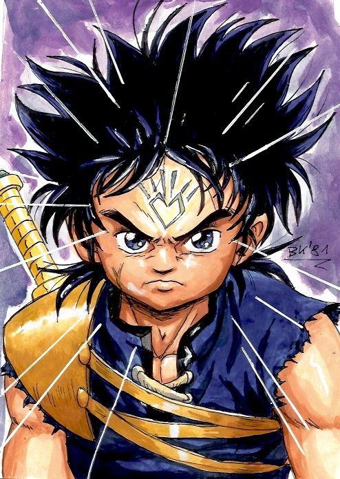 Dai Ryukishi Dragon Quest Art Anime Wallpaper