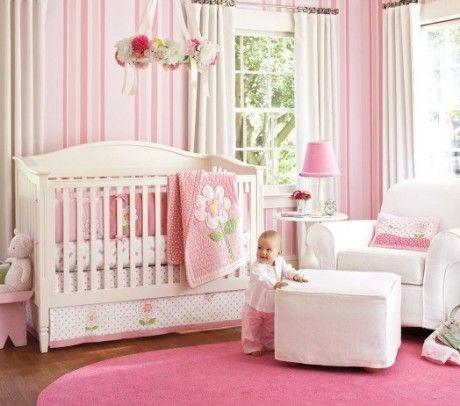 decoracion cuarto de bebe niña - Buscar con Google   Habitaciones ...