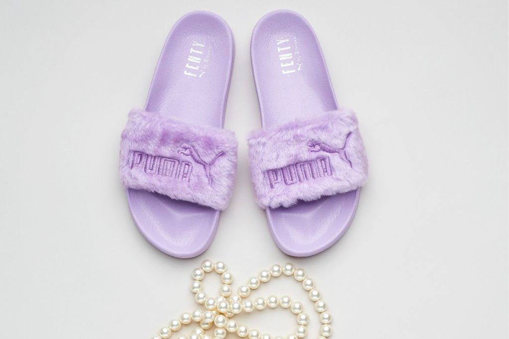 1b45f75a632b Rihanna and Puma Are Releasing New Limited-Edition Fenty Fur Slides ...