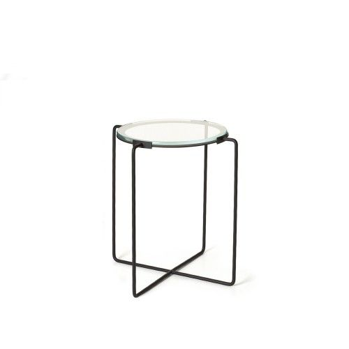 Jasper Morrison Iron And Glass Side Table