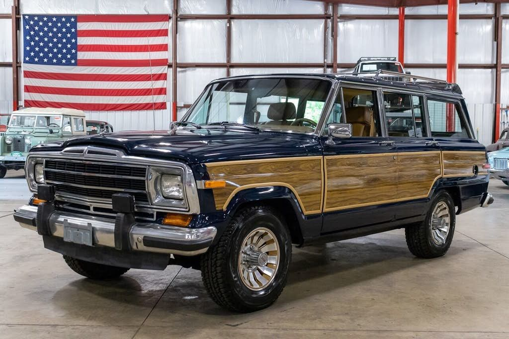 1986 Jeep Grand Wagoneer For Sale Autolist In 2020 Jeep Grand Jeep Grands