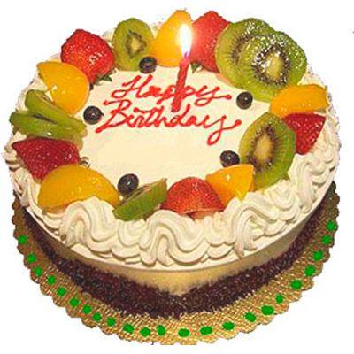 Nice Year Fruit Birtday Cakes Fruit Cake Fondant Cake Images
