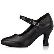 a3c8ff84b9 δερμάτινο άνω Μπάκι χορού latin παπούτσια των γυναικών ψηλά τακούνια  (περισσότερα χρώματα)
