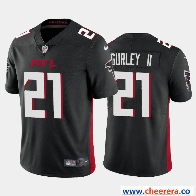 Nike Men S Atlanta Falcons 21 Todd Gurley Ii Black New Vapor Untouchable Limited Jersey Nike Men Atlanta Falcons Jersey