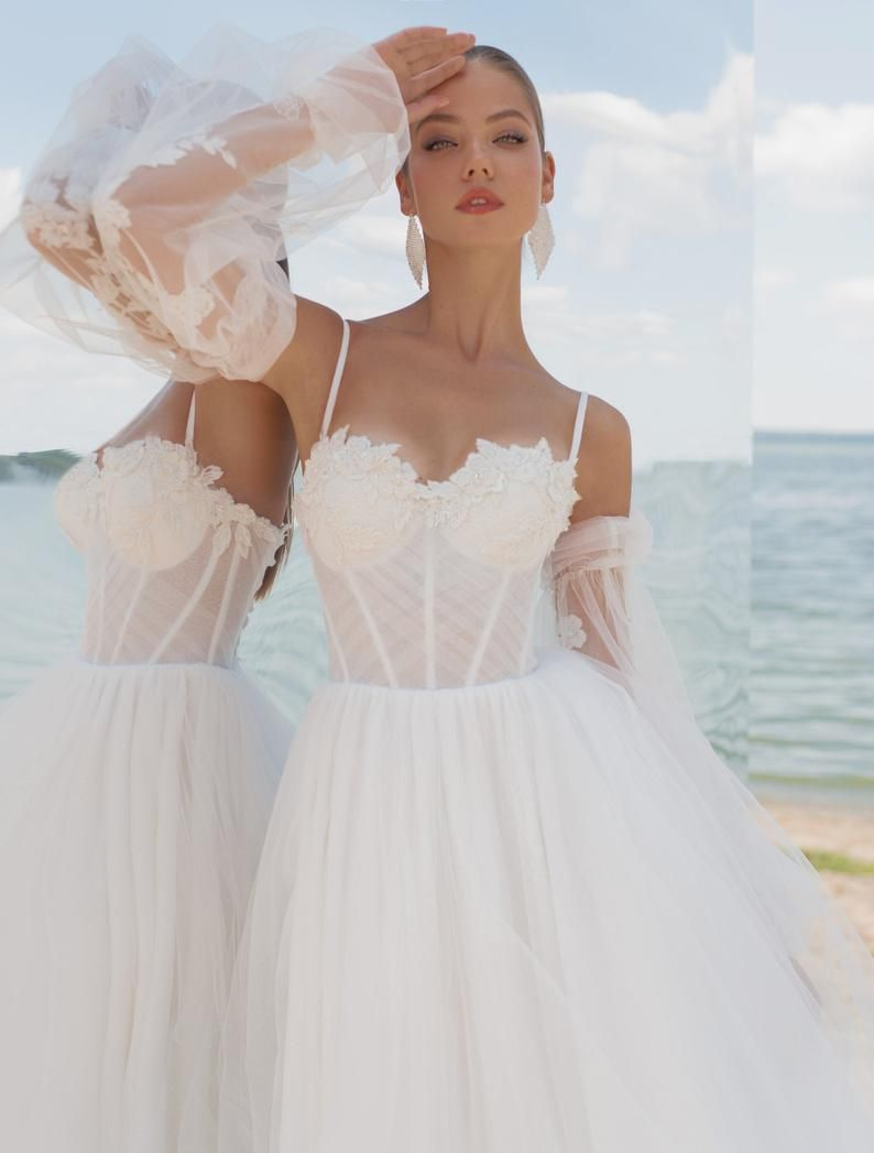 35+ Wedding dress with removable skirt and sleeves info