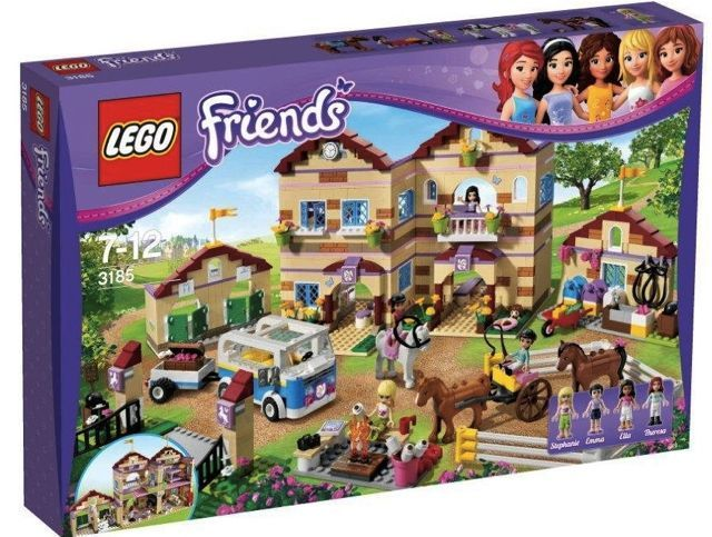 Lego Friends Heartlake Stables 3189 I Want This Lego Friends