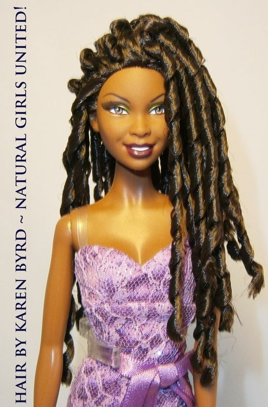 Black Barbie Natural Hair Doll American Girl Doll Hairstyles Natural Hair Styles