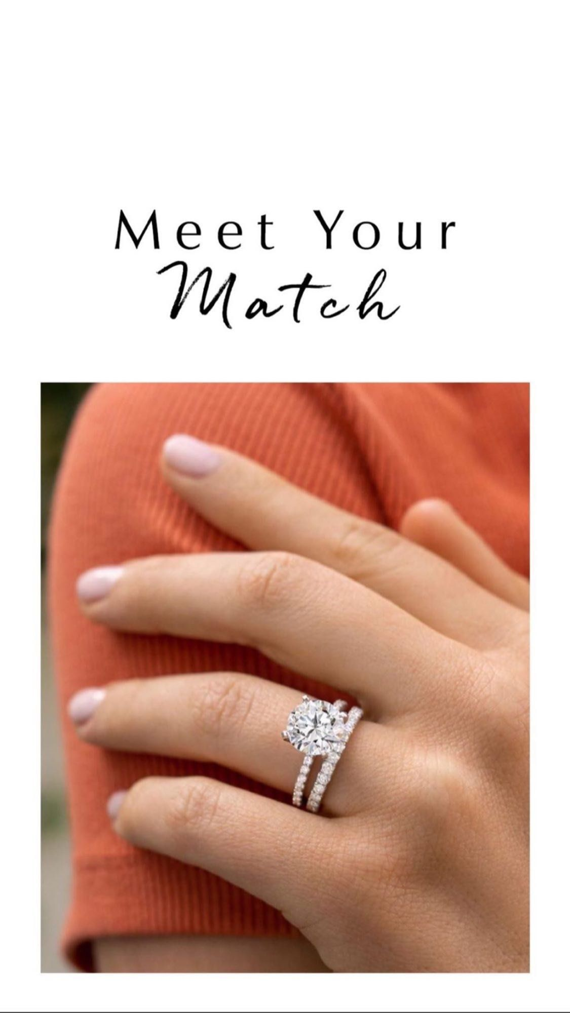 Rings Find Their Perfect Match In Our Collection Of Timeless Engagement Ring And Wedding Ring Sets Wedding Ring Hand Matching Wedding Rings Wedding Ring Sets