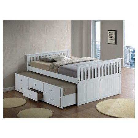 Broyhill Kids Marco Island Captain S Bed With Trundle Bed And