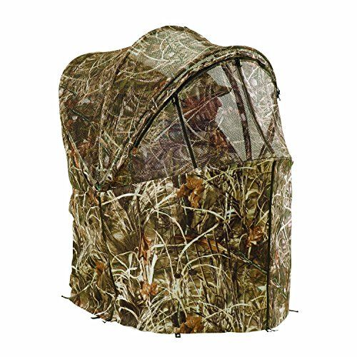 Ameristep Rapid Shooter One Man Pop up Hunting Ground Chair Blind Tent New  sc 1 st  Pinterest : tent blind - memphite.com