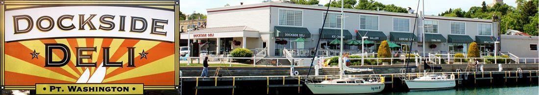 Dockside Deli Restaurant Port Washington Wi Wisconsin Offers Lakeside Dining
