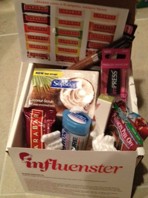 Reviews of Influenster.com's Holiday VoxBox            Since I'm always using products w/the pov of delivering as promised, I joined Influenster.com.    From checking out the site's collection of product reviews and reviewers, Influenster seems skew in the 20-something age range—ie, not me!