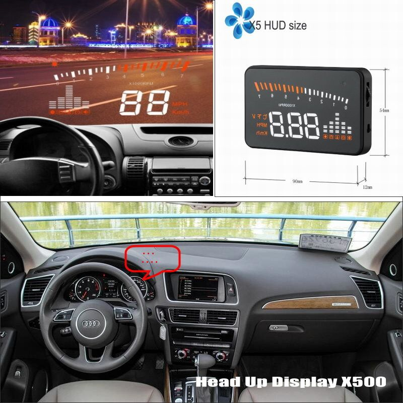 hud head up display for audi a6 s6 rs6 c6 c7 refkecting. Black Bedroom Furniture Sets. Home Design Ideas