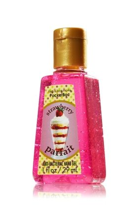 Strawberry Parfait Pocketbac Sanitizing Hand Gel Anti Bacterial