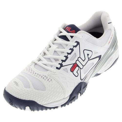 Tennis Express Fila Men S Cage Delirium Tennis Shoes White And