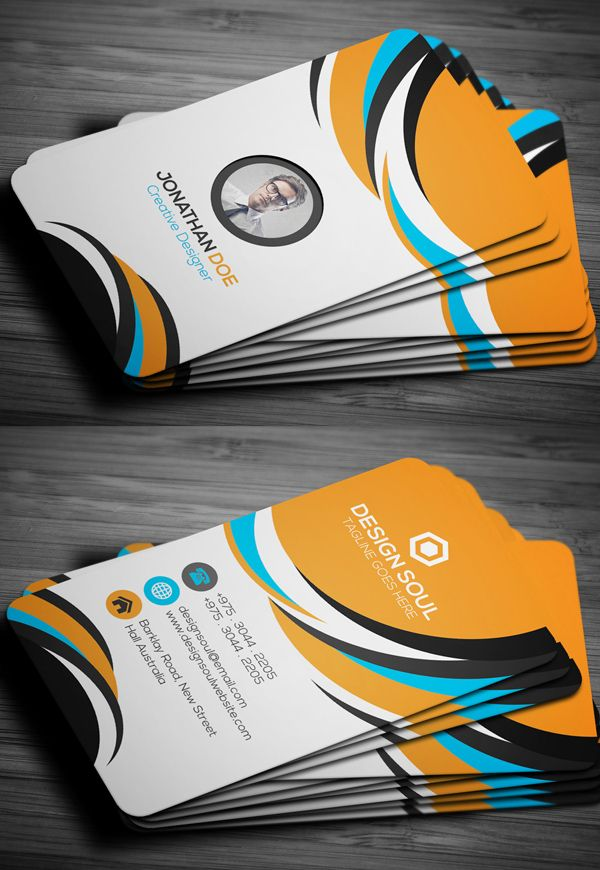 Professional Business Card Businesscards Branding Psdtemplates - Professional business cards templates