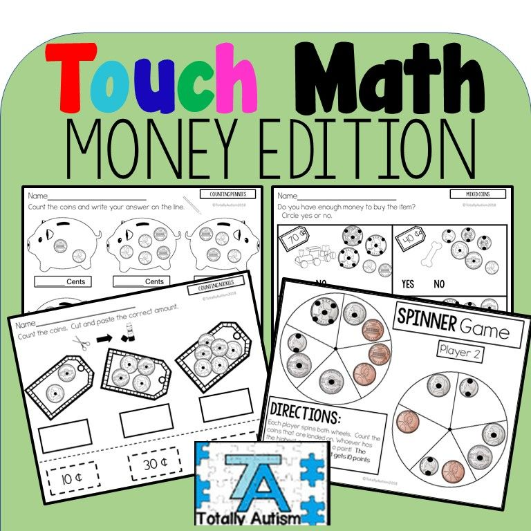 Touch Math: Money Edition