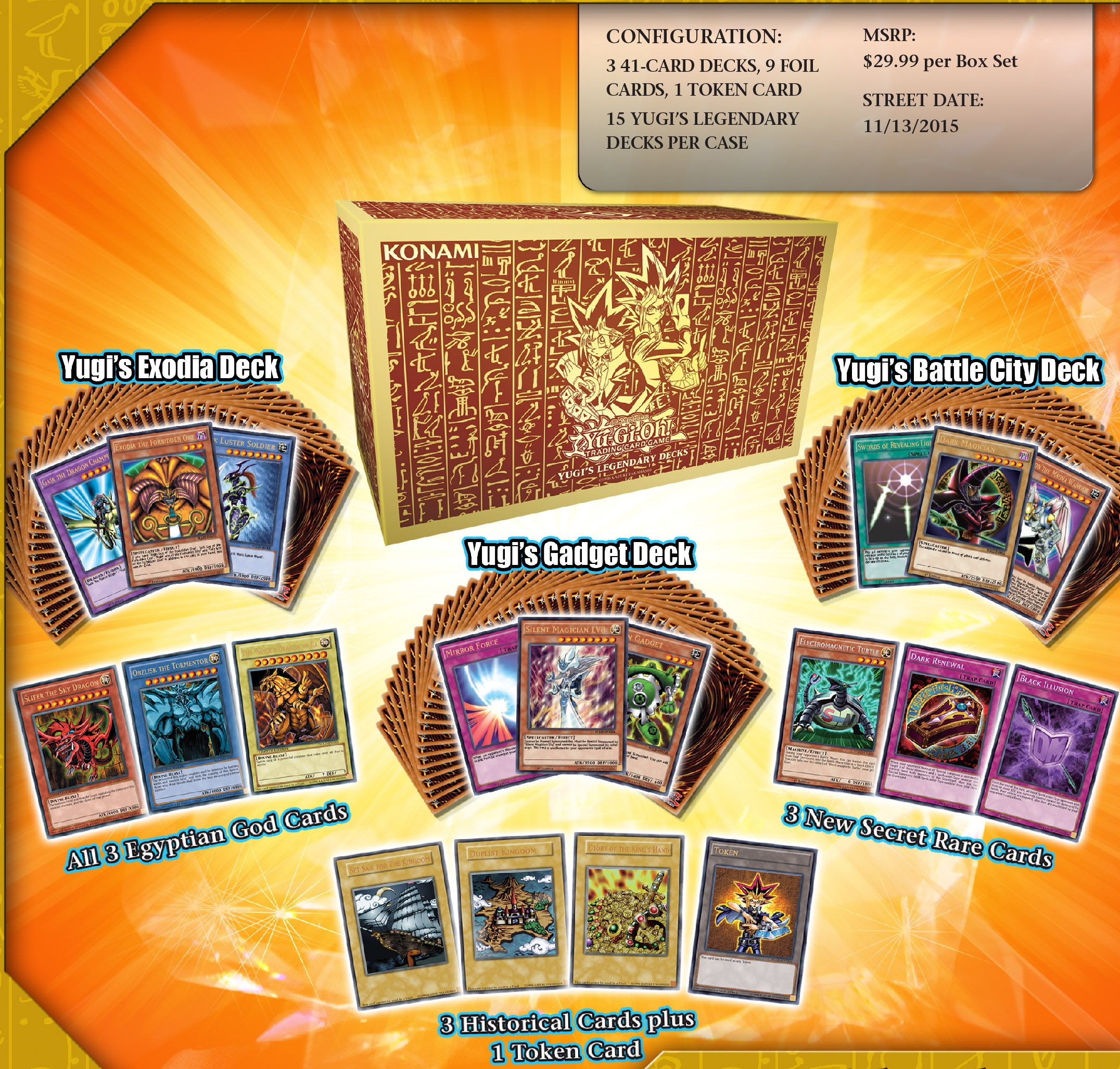 The Yugi S Legendary Decks Are Now Available Become A King Of