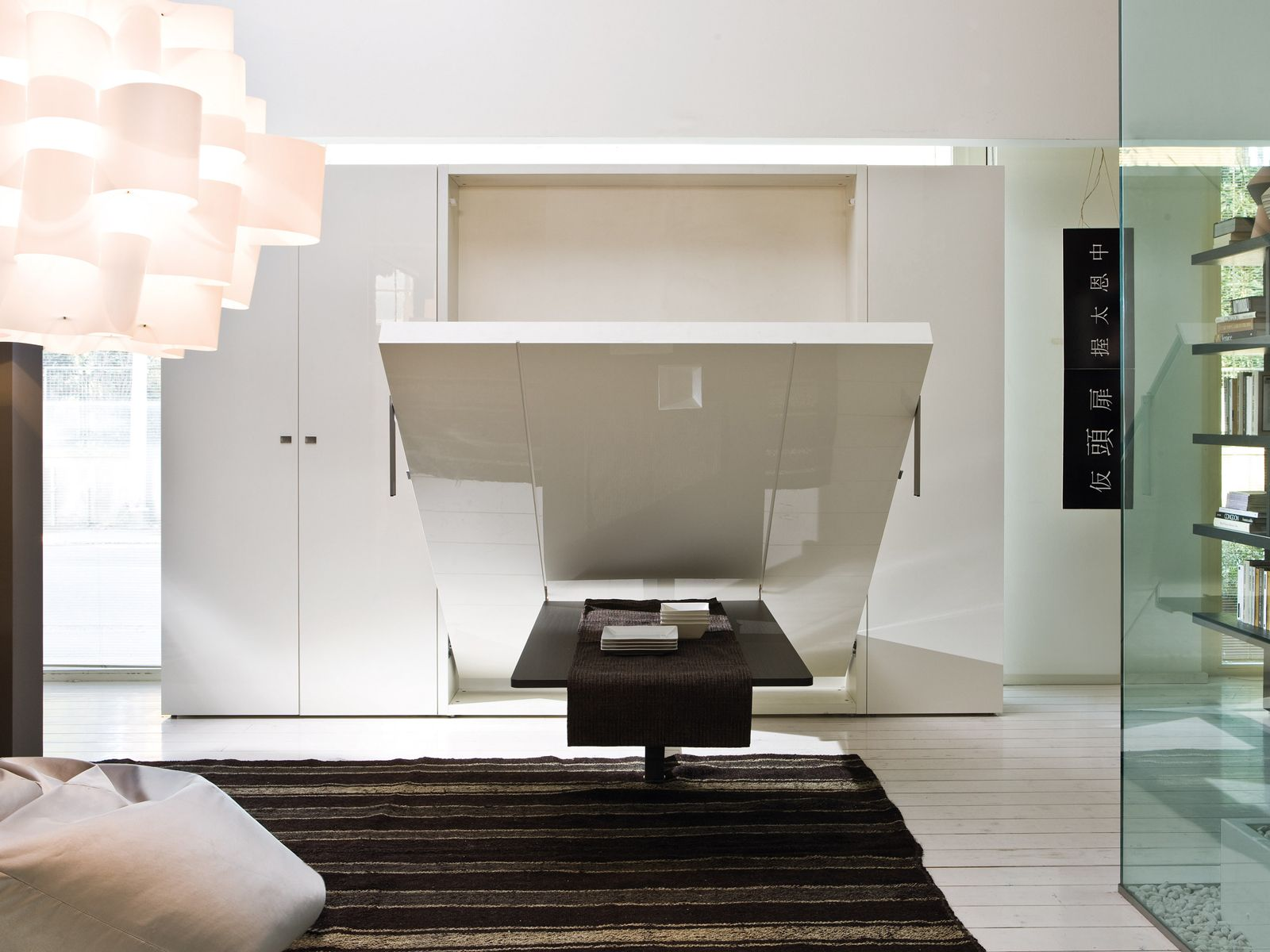 Cama abatible doble ULISSE DINING By CLEI