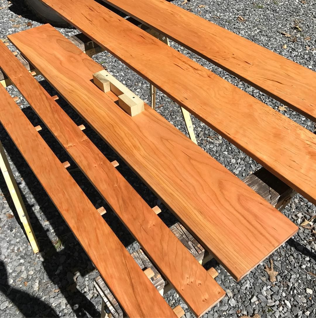 Perfect Day To Sun Some Cherry For A Customer Who Wanted It A Little Darker Wood Texture Dark