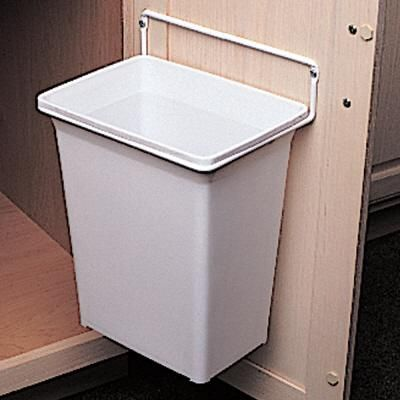 knape vogt door mounted waste basket dwb 975 r w. Black Bedroom Furniture Sets. Home Design Ideas