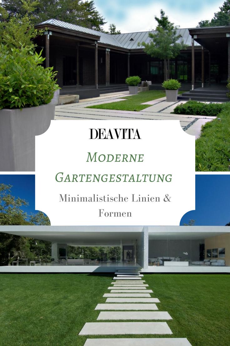 Die moderne Gartengestaltung zeichnet sich ganz besonders von ...