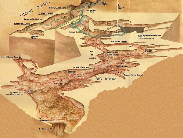 carlsbad caverns national park map - Yahoo Search Results