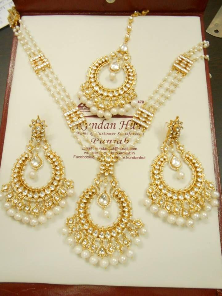 Kundan Jewellery Latest Designs & Trends 2018-19 for Asian Women ...