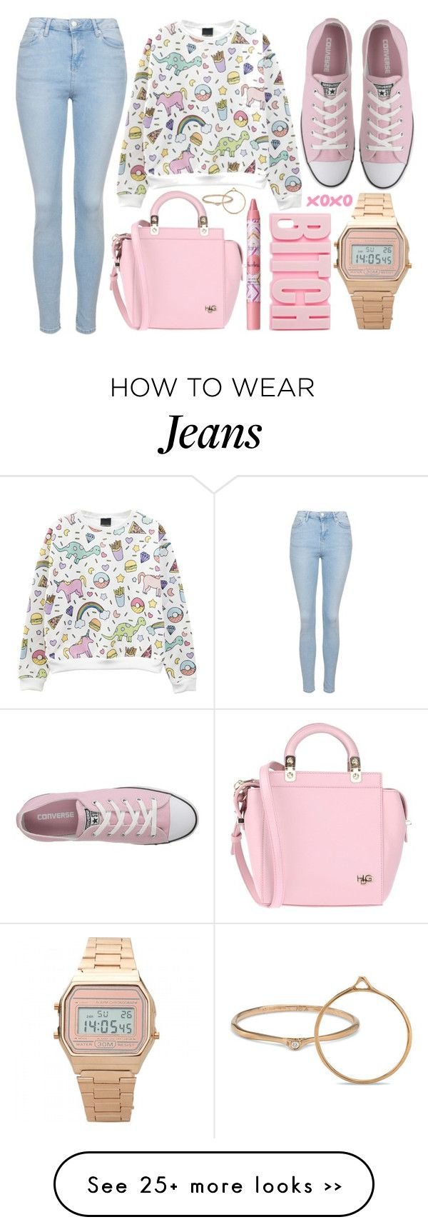 """street style"" by sisaez on Polyvore featuring Topshop, Converse, Givenchy…"