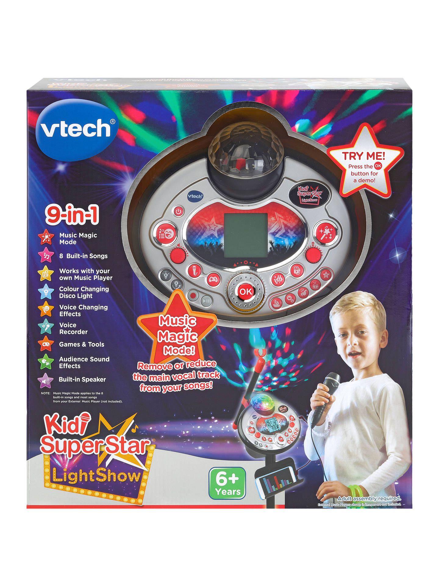 VTech Kid Super Star Black