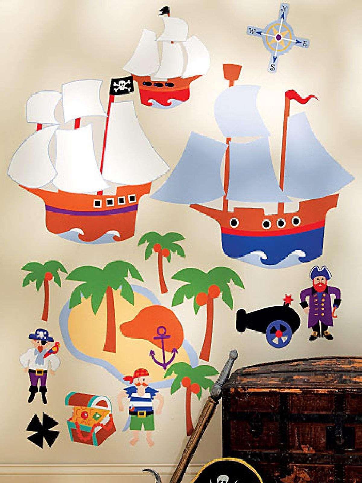 pirate island big wall mural boys bedroom ideas pinterest pirate island big wall mural