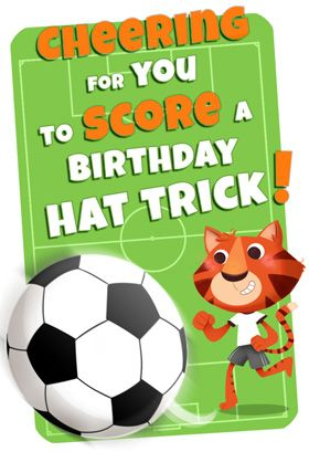 Soccer Theme Printable Card Customize Add Text And Photos Print For Free