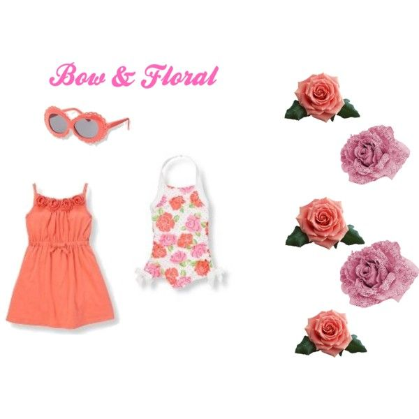 """""""bow and floral""""  From Janie and Jack"""