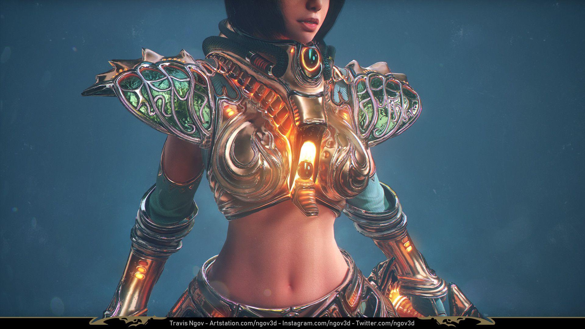 Artstation Legend Of Dragoon Shana Travis Ngov With Images