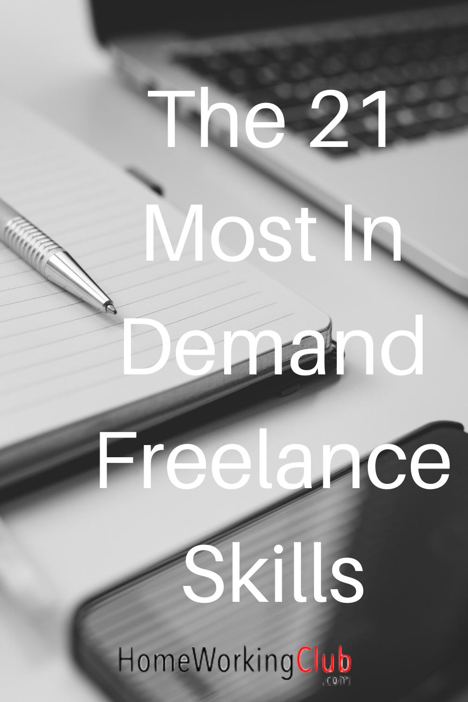 The 21 Best Freelance Skills For 2020 Homeworkingclub Com Work Skills Freelance Skills