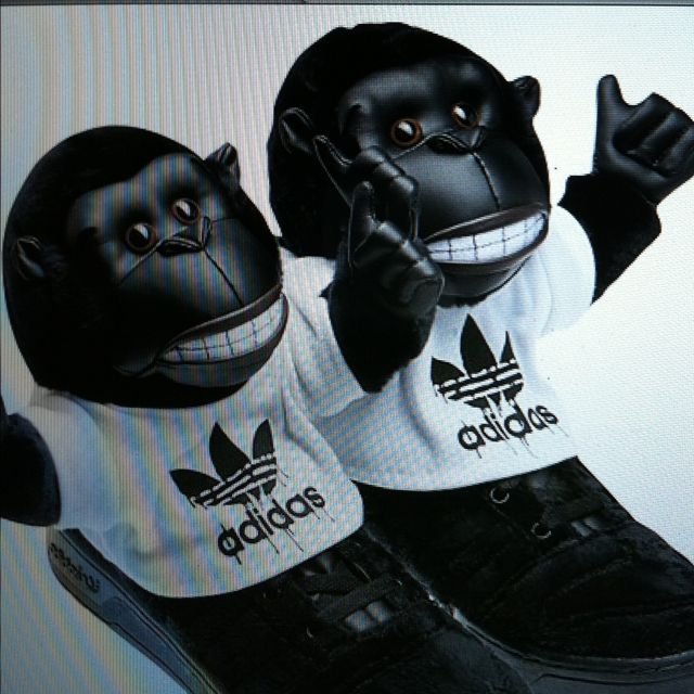 Adidas Jeremy Scott Jeremy gorilas Adidas by Jeremy Scott Scott Pinterest 663679