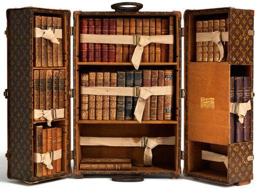 Bookshelf Louis Vuitton S Bookcase Trunk Stylish And Smart