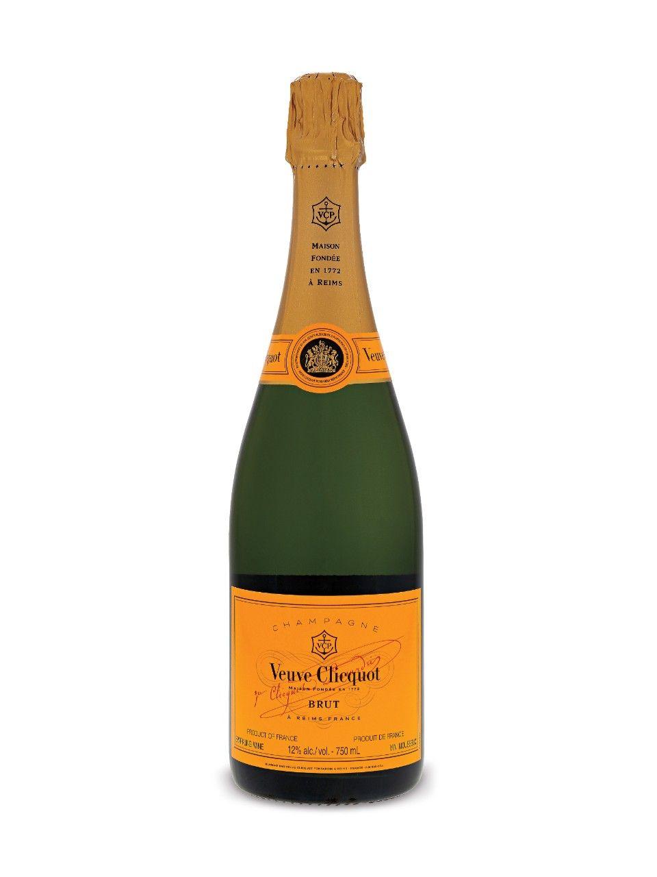Veuve Clicquot Brut Champagne Pale Lemon With Fine Bubbles The