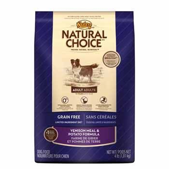 Nutro Natural Choice Grain Free Limited Ingredient Diet Venison